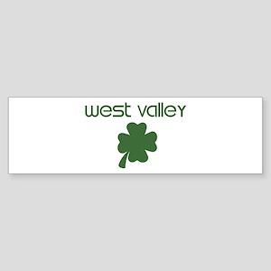 West Valley shamrock Bumper Sticker