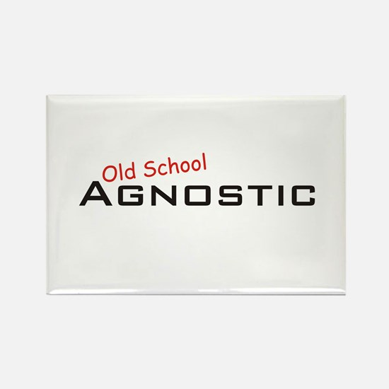 Agnostic / School Rectangle Magnet