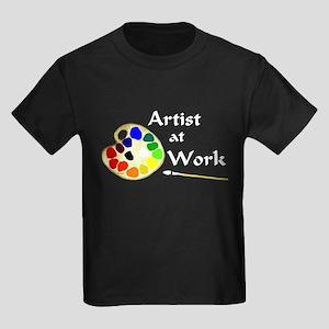 Artist at Work Kids Dark T-Shirt