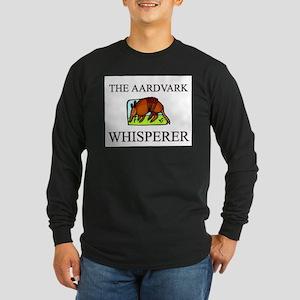 The Aardvark Whisperer Long Sleeve Dark T-Shirt