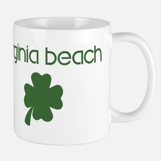 Virginia Beach shamrock Mug