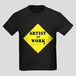 Artist@Work 2 Kids Dark T-Shirt