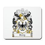 Berg Coat of Arms Mousepad