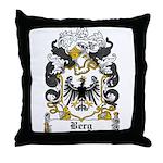 Berg Coat of Arms Throw Pillow