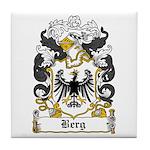 Berg Coat of Arms Tile Coaster