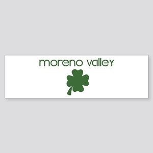 Moreno Valley shamrock Bumper Sticker