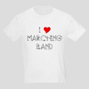 I Love Marching Band Kids Light T-Shirt