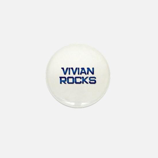 vivian rocks Mini Button