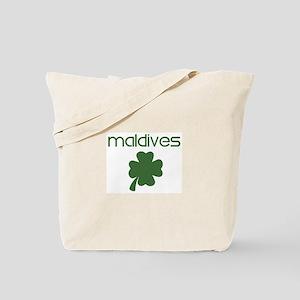 Maldives shamrock Tote Bag