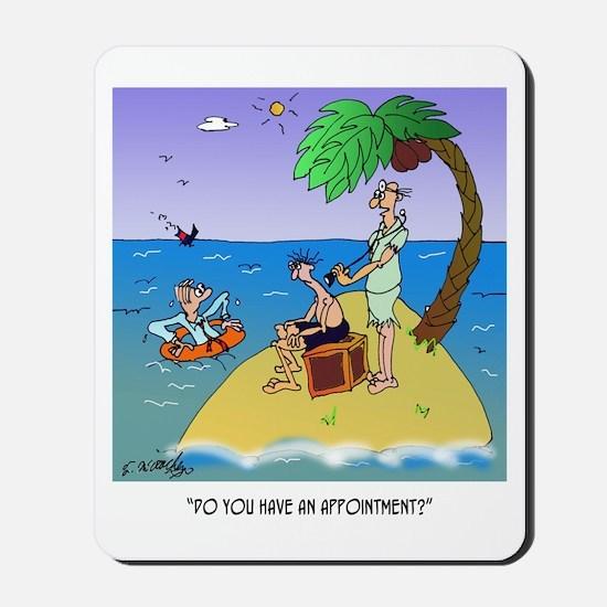 Doctor Cartoon 9491 Mousepad