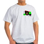 I vote (red, black & green) Ash Grey T-Shirt