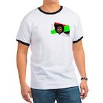 I vote (red, black & green) Ringer T