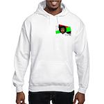 I vote (red, black & green) Hooded Sweatshirt
