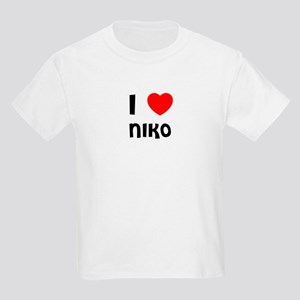 I LOVE NIKO Kids T-Shirt