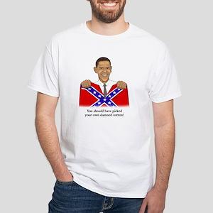 barack_confederate_flag_5_copy T-Shirt