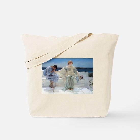Alma Tadema Ask Me No More Tote Bag