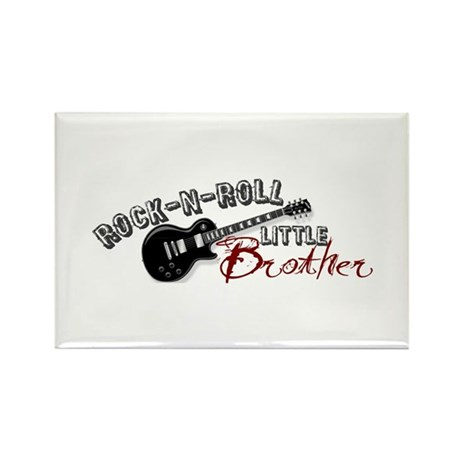 Rock-n-Roll Little Brother Rectangle Magnet
