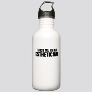 Trust Me, I'm An Esthetician Water Bottle