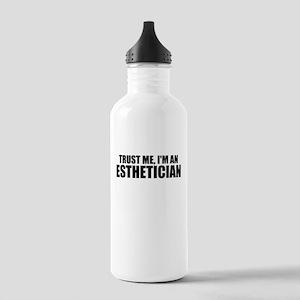 Trust Me, I'm An Esthetician Water Bottle