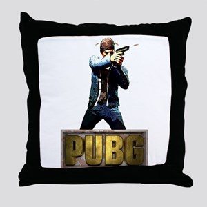 PUBG Player unknowns Battlegrounds Throw Pillow