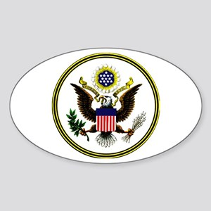 The Great Seal Oval Sticker