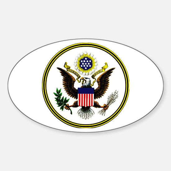 The Great Seal Oval Decal