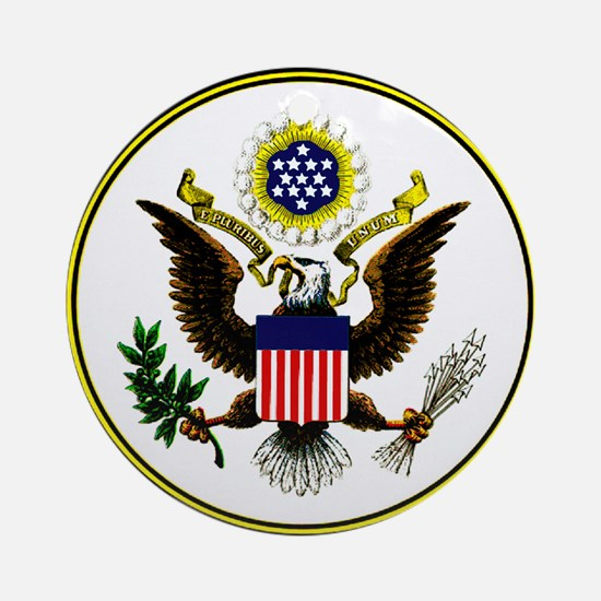 The Great Seal Ornament (Round)