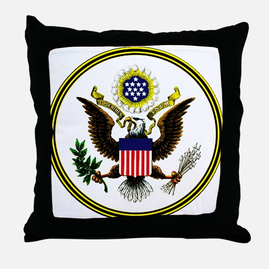 The Great Seal Throw Pillow