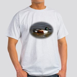 Northern Shoveler Light T-Shirt w/phrase