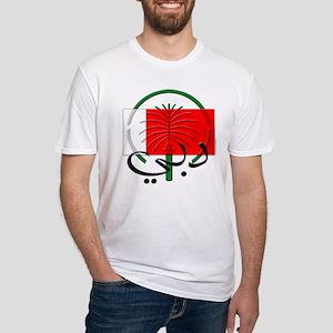 Dubai Flag Fitted T-Shirt