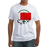 Dubai Flag Fitted T-Shirt