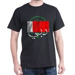 Dubai Flag Black T-Shirt