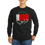 Dubai Flag Long Sleeve Dark T-Shirt