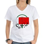 Dubai Flag Women's V-Neck T-Shirt