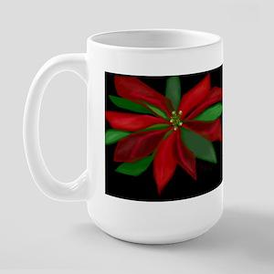Poinsetta Large Mug