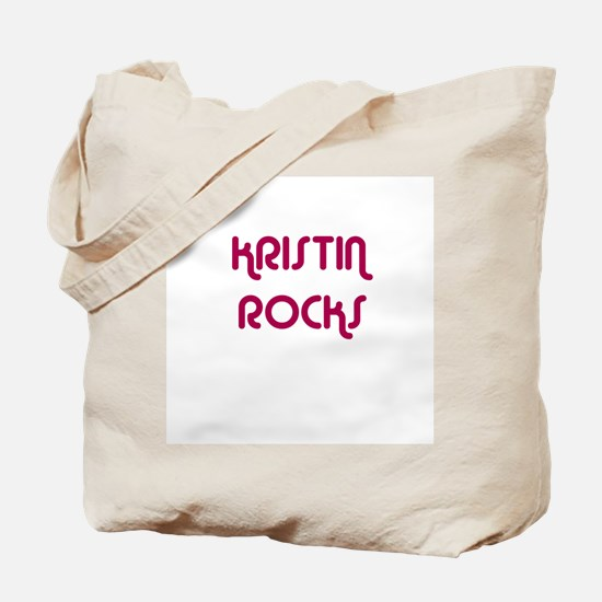 KRISTIN ROCKS Tote Bag