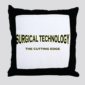 Surgical Technology - yellow/ Throw Pillow