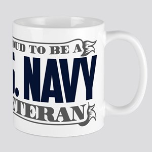 Proud To Be A U.S. Navy Veteran Mug