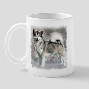 Alaskan Malamute Art Mug