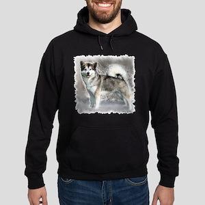 Alaskan Malamute Art Hoodie (dark)