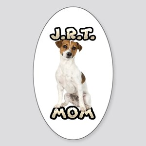 Jack Russell Terrier Mom Sticker (Oval)