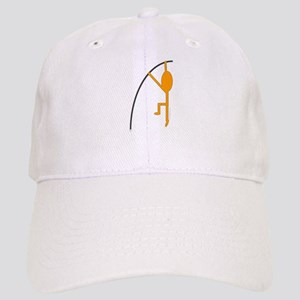 Orange Pole Vaulter Cap