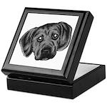 Puggle Puppy Keepsake Box