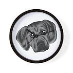 Puggle Puppy Wall Clock