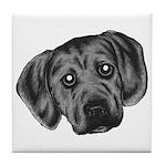 Puggle Puppy Tile Coaster