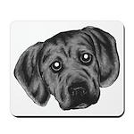 Puggle Puppy Mousepad