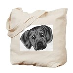 Puggle Puppy Tote Bag