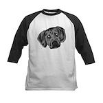 Puggle Puppy Kids Baseball Jersey