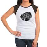 Puggle Puppy Women's Cap Sleeve T-Shirt