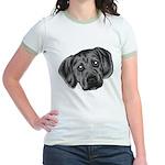 Puggle Puppy Jr. Ringer T-Shirt